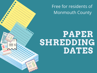 Paper Shredding Dates-General